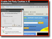 Cookies How to Enable